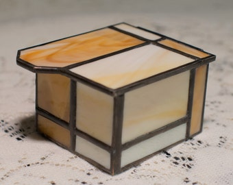 Clean and Classy Stained Glass Box