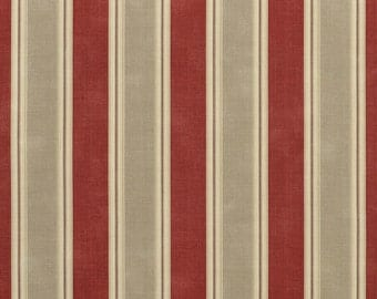 Waverly Country Club Crimson Fabric -  by the Yard