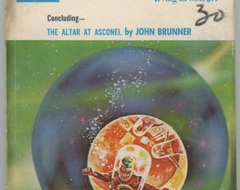 "49 year old, Paperback,   May. 1965, Science Fiction Pocketbook, "" IF Science Fiction""  Good to Very Good condition.    959a"