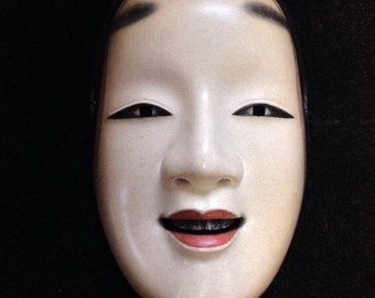 MAGOJIRO: Noh Mask Expressing Woman Carved by HIDEO OGAWA
