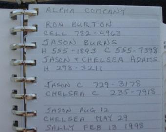 Perpetual address book