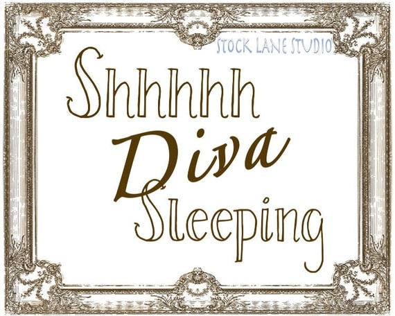 printable baby sleeping sign for door | just b.CAUSE