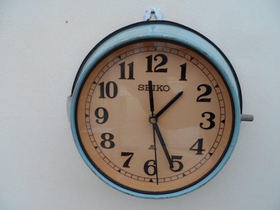 seiko navires esclave horloge horloge murale d 39 un japon. Black Bedroom Furniture Sets. Home Design Ideas