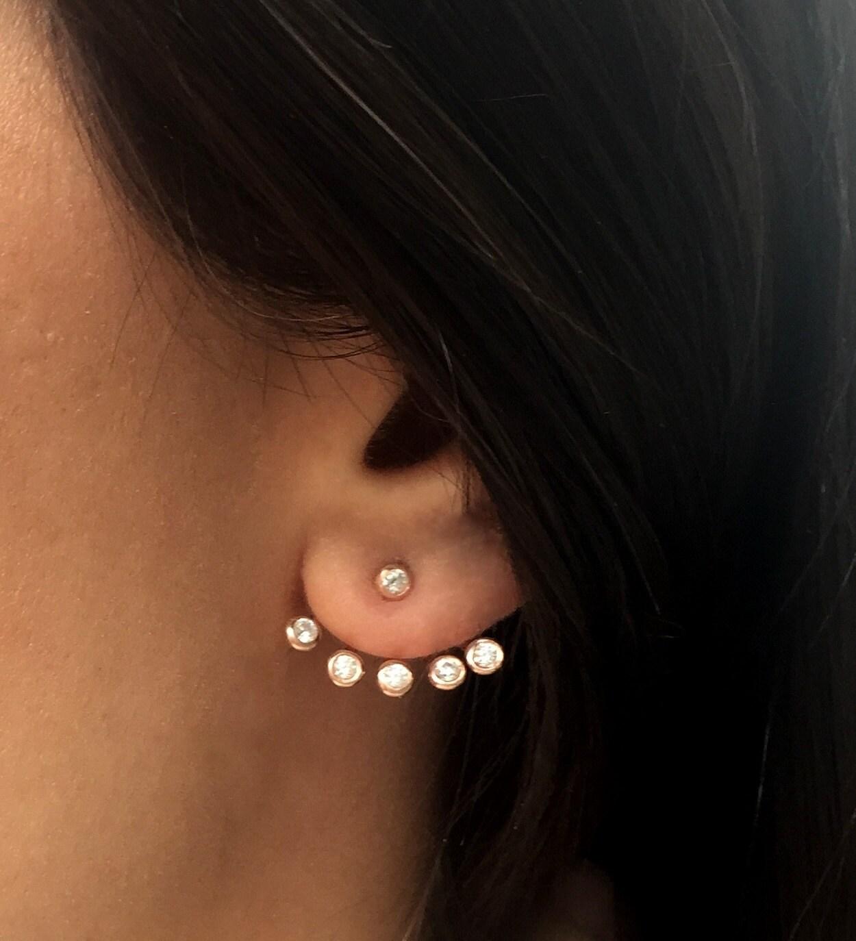 Swarovski Ear Jacket Earrings