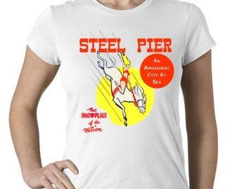 Vintage Steel Pier Atlantic City T-Shirt