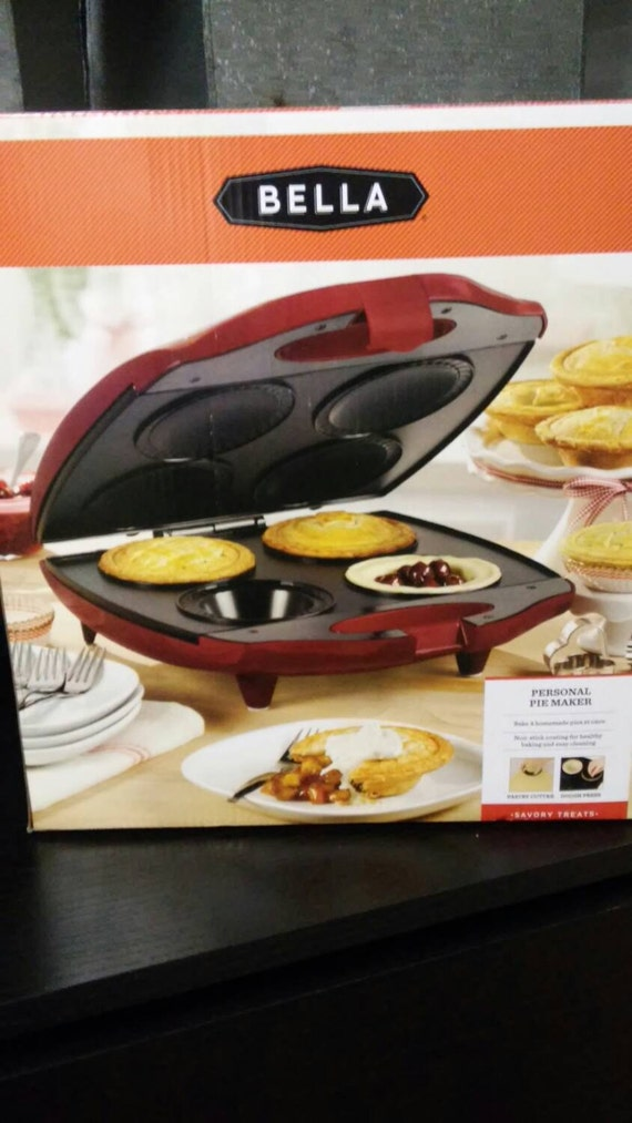 New bella personal pie maker for Bella personal pie maker recipes