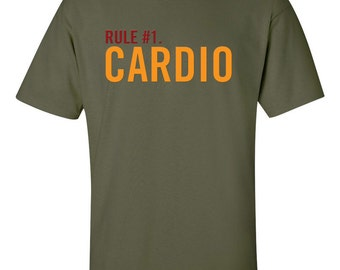 Rule #1  CARDIO  Zombieland Inspired T-Shirt