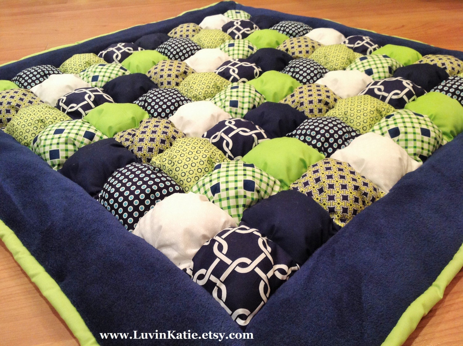 Bubble Quilt Bubble Blanket Puff Quilt Floor Mat for Baby : quilt mat - Adamdwight.com