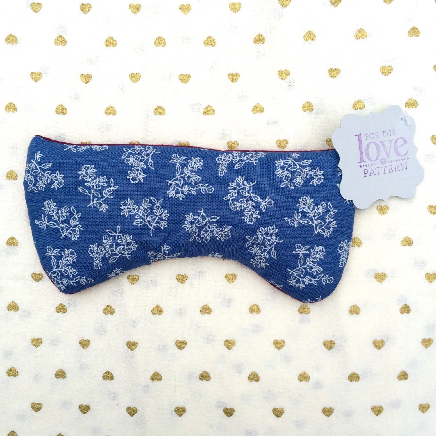 Lavender Eye Pillow by LoveofPattern on Etsy