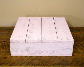 "Pink Shabby Chic Cake Stand - 12""x12"" and 14""x14"""