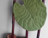 Lotus leaf home decor flat pillow. For bedroom, lounge room, theatre room, nursery room.