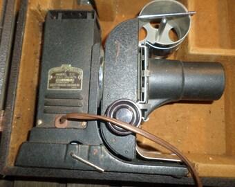 Vintage Antique Tri Purpose Picturo Projector Society for Visual Education Model CC