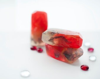 Ruby Stone Soap