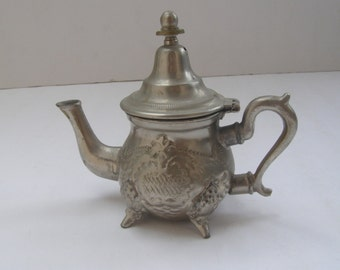 Vintage Marvelous Moroccan Tea Pot