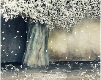 150cm*200cm(5ft*6.5ft) Blooms blossom petals vinyl backdrop photography backdrops LK4314