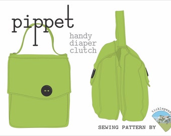 Pippet Diaper Clutch / Diaper Bag Pattern