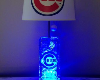 Items Similar To Baseball Themed Table Lamp On Etsy
