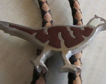Pheasant Bolo Tie.