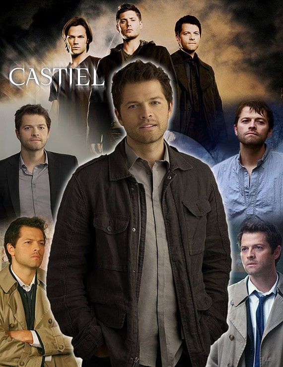 Supernatural Inspired Castiel Throw Blanket