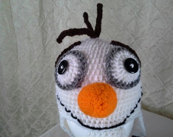 Child's Olaf Inspired Earflap Hat