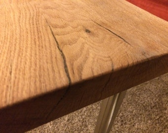 Live Edge Red Oak Writing/Computer Desk