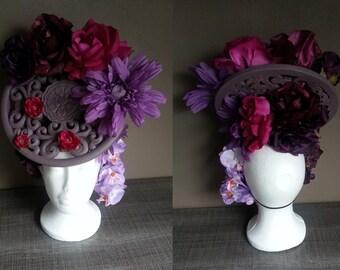 Baroco tie and dye headdress