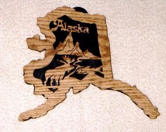 Alaska State Plaque
