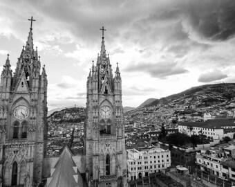 Ecuador Photography- Quito- Travel- High Quality Print