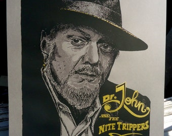 Dr. John and the Nite Trippers - Tour Poster 2014