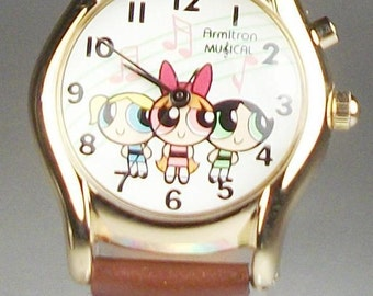 Armitron Musical PowderPuff Girls Watch!