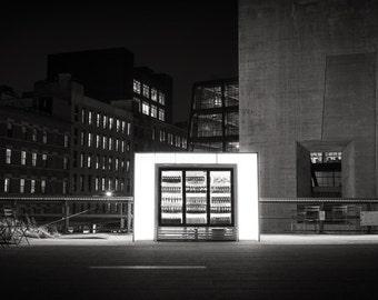 Beverage Case, The Highline, New York City