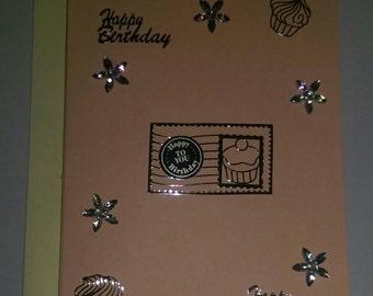 Handmade Greeting Card, Birthday