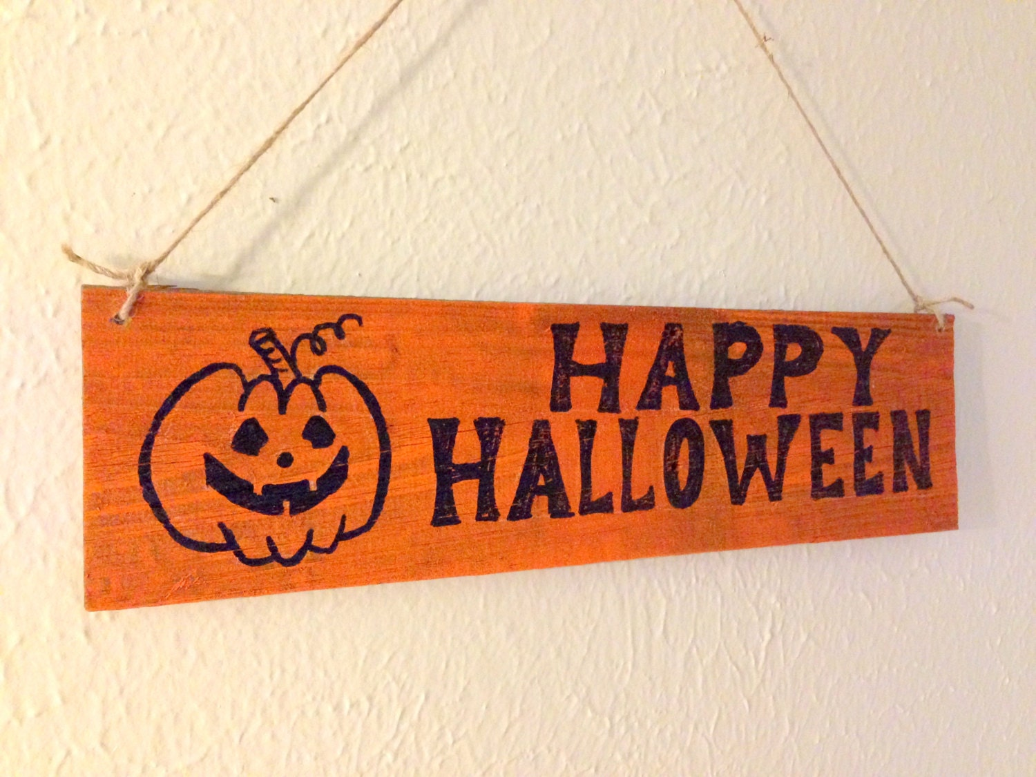 Happy Halloween wsign, Pampkin sign, Witches Welcome, Broom ...
