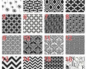 black and white chevron curtains – Etsy
