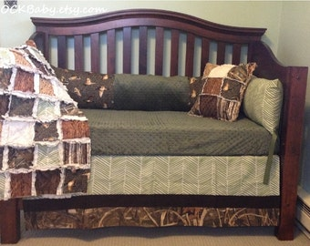 Hunting And Fishing Baby Bedding
