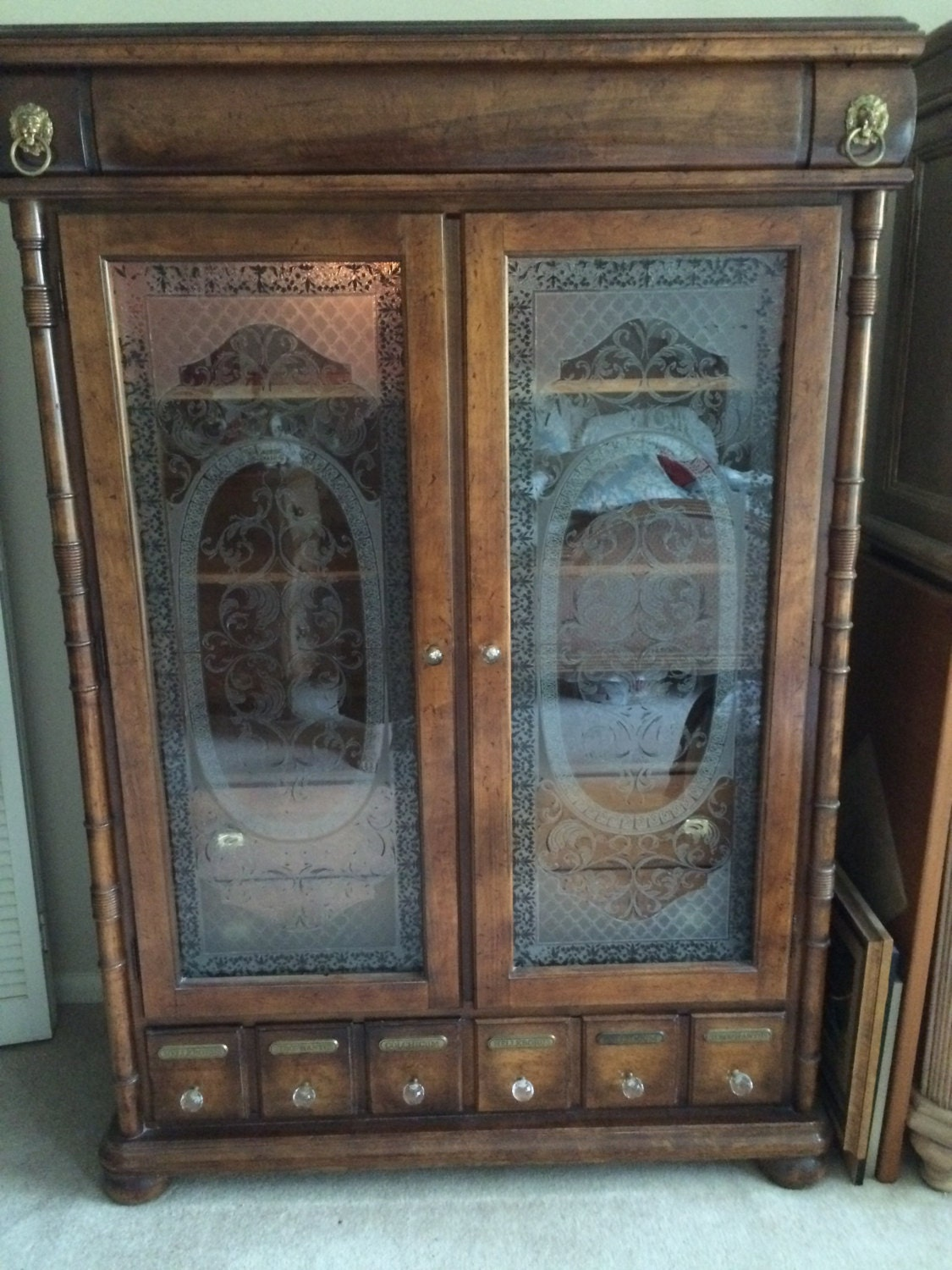 Apothecary Cabinet Armoire Apothecary Drawers For Medicinal