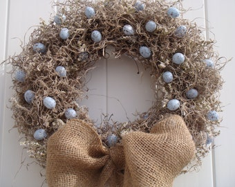 Birds Nest Wreath
