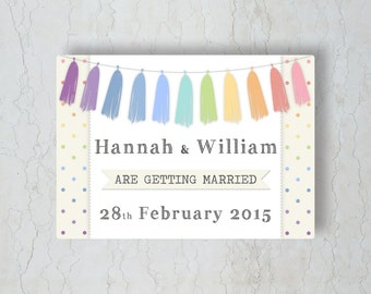 Rainbow Wedding Invitation