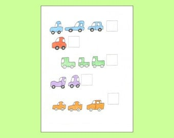 Counting Cards -- counting printables for preschool -- 15 printable pages for early learning