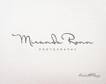 Premade logo -Photography logo - Logo design - Handwritten logo- Fashion logo - Watermark103