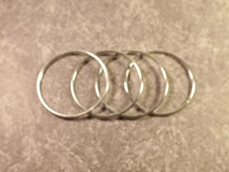 3 inch metal rings 4 soldered metal craft by for 3 inch rings for crafts