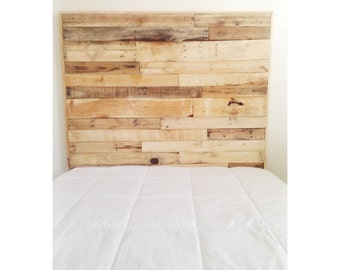 Reclaimed Wood Full Headboard