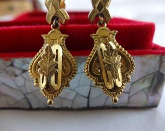 Victorian 14K gold-filled Earrings