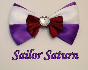 Sailor Saturn Hair Bow
