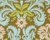 Amy Butler Belle Limited Quantity - Acanthus in Olive PWAB109.OLIVE 1 Yard, Large Damask