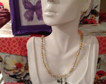 Dragonfly Pendant Necklace ***