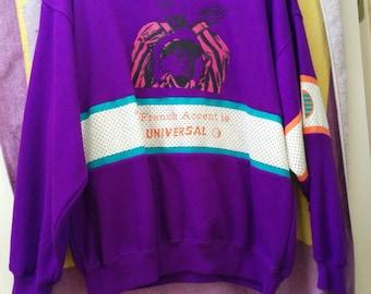 Purple 90's sweater