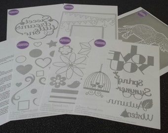 Papercutting starter mini kit, an introduction to the art.