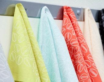 Pistachio Bundle : Hand-printed Fabric Panel Bundle