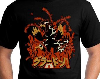 SHINY Groudon Pokemon T-Shirt